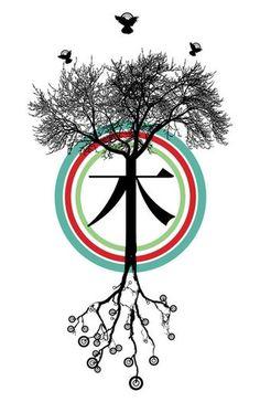 Árbol - 木 - Tree on the Behance Network #chinese