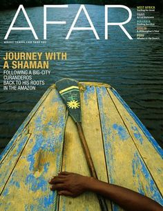 Afar Magazine #cover #travel #editorial #magazine