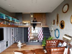 A TAIPEI HOUSE DESIGNED FOR TOY BUILDING AND COLLECTIONS