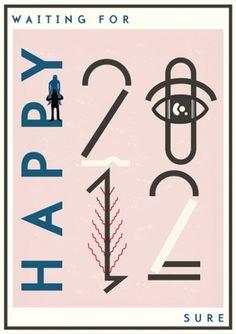 S-PATTEN #print #typography #pink #2012