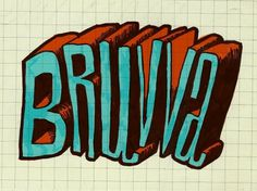 The Phraseology Project - BRUVVA #bruvva #lettering #design #ray #brown #phraseology #typography