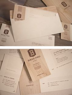 Bass Pro Shop Identity by Fred Carriedo | Inspiration Grid | Design Inspiration #identity