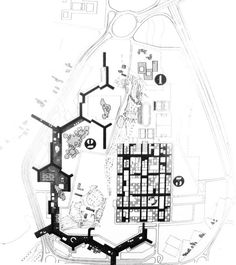 university plan #drawings #plans #1960s #architecture #mat #urbanism #buildings