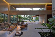 Tropical Garden Residence in Brazil - #decor, #interior, #homedecor, #architecture, #house
