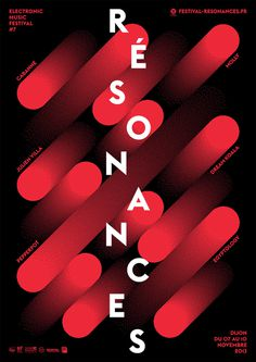tout va bien - typo/graphic posters #inspiration #black #poster #red