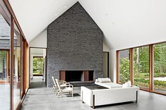 Slate House in a Maryland Forest by Ziger/Snead 3