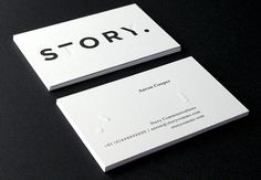 Via typethatilike — Story by toko.nu #branding #business card
