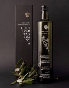 Cultivar Taggiasca #packaging #olive #oil
