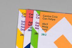 Aleix Artigal Studio #geometry #color #cover #brochure #typography
