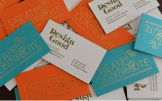 Lead Image #business #branding #print #gold #cards