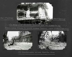 Three photo albums with pictures from Shanghai before and during the Anti-Japanese war