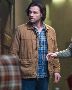 Supernatural Sam Winchester Cotton Jacket (1)