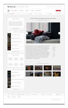 Elevn Co. / Whale Lifestyle Website