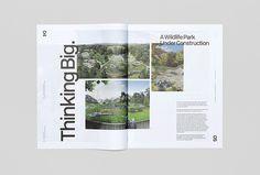Trace Magazine by Socio Design and Mash Creative #graphic design #magazine #editorial
