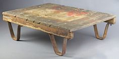 The Pallet Table #table
