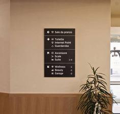 hotel Wayfinding | Signage | Sign | Design | 意大利AL SOLE酒店大符号导视系统设计