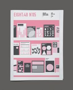 Eight:48 issue 5 – Out Now | Swiss Legacy #graphic design #magazine cover