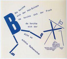 Dada, Typography