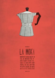 La Moka #illustration #graphism