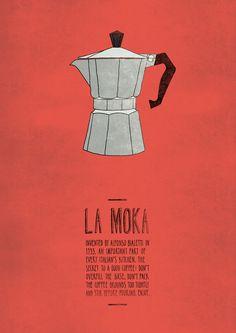 La Moka #illustration #graphism