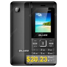 PLUZZ #P211 #2G #Quad #Band #Phone #- #BLACK