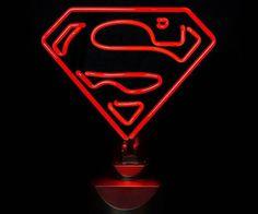 Superman Neon Sign