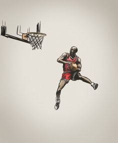 G.O.A.T #jordan #illustration #basketball