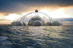 Self-Sustainable Underwater Living: Sub-Biosphere 2 by Phil Pauley [Video] #architecture #futuristic