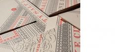 Arlo Vance - Graphic Designer and Type Designer #invite #stamp #stationery