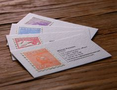 Present Yourself in a Unique Way. Memorable Business Cards.