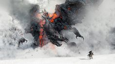 Rise of surt by Rasmus Berggreen