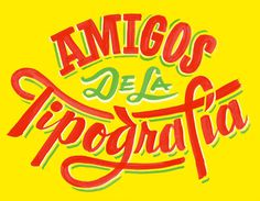 Mexican Street art styled type #typography #mexcio #paint #script