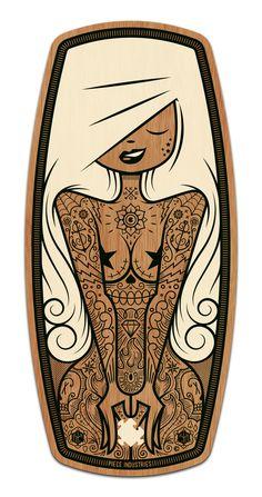 Lil' Biscuit on Behance #artwork #illustration #design #board