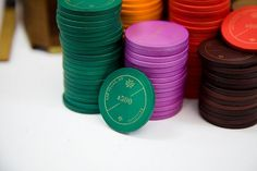 'The Editions': Poker Chips - Package Design. #screen #poker #henderson #hand crafted #scad #kendall #chips