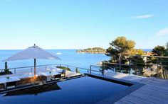 Villa O a splendid destination of French Riviera/ www.homeworlddesign.com #french #villa #riviera