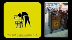 5.jpg (425×239) #sign #food #trash