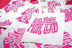 eduardorh » VIVA LA REPOLLUTION #print #brand identity #screenprinting #pollution #tote bag