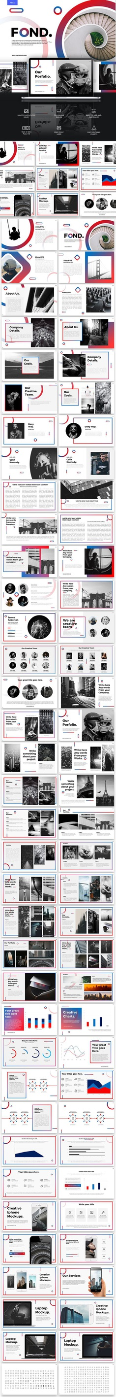 Fond Powerpoint Template - PowerPoint Templates Presentation Templates