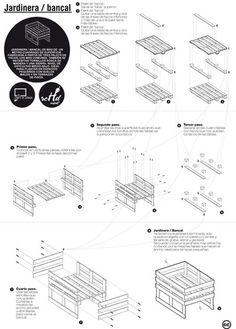 DIY pallet furniture plans - #DIY #pallet,