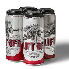 Daredevil Brewing Liftoff Cans #packaging #beer
