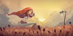 Creative Character Illustrations by Davide Tosello