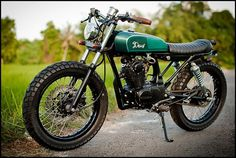 Honda CB100 custom #deus #motorcycle #custom