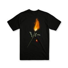 T-shirt Design #T-shirt #tshirt #shirtgraphic #band #vintage #grim #reaper #skull #illustration #rose #fire #emo #punk