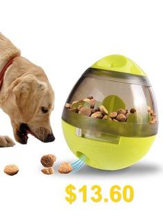 Dog #Shaking #Food #Leak #Tumbler #Dog #Food #Feeder #- #GREEN