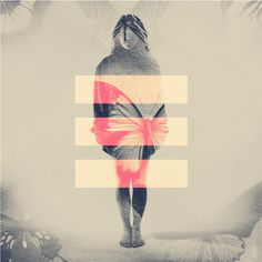 DOUBLE EXPOSURE PORTRAITS on Behance #exposure #double #girl