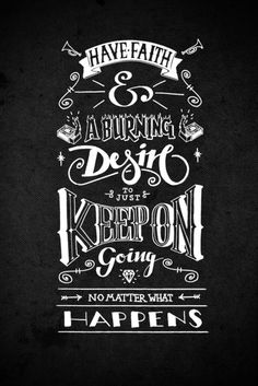 Keep on going #quote #typography