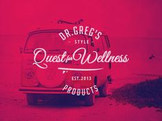 Dr. Greg's Quest For Wellness Products #art