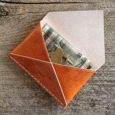 Disciple Wallet in Annatto Roo by Barrett Alley #tech #flow #gadget #gift #ideas #cool