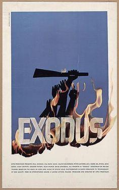 The Statement - Saul Kicks Bass #bass #icon #preminger #saul #design #otto #illustration #film #exodus