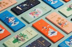 graphic design, chocolate